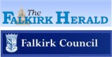 Falikrk Herald and Falkirk Council logos